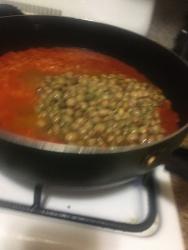 pigeon peas gandules in sauce